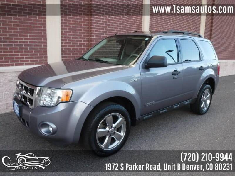 2008 Ford Escape for sale at SAM'S AUTOMOTIVE in Denver CO