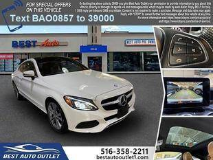 2017 Mercedes-Benz C-Class for sale at Best Auto Outlet in Floral Park NY