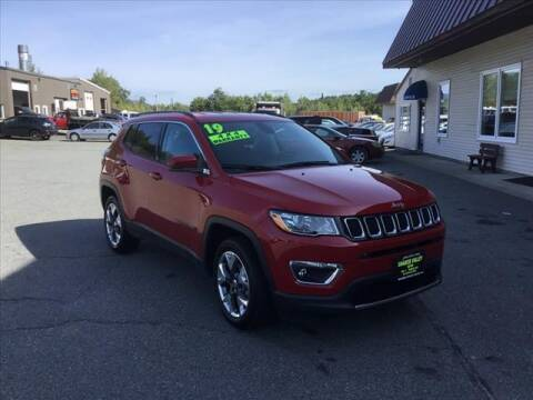 2019 Jeep Compass for sale at SHAKER VALLEY AUTO SALES in Enfield NH