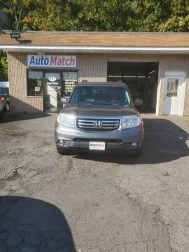 2012 Honda Pilot for sale at Auto Match in Waterbury CT