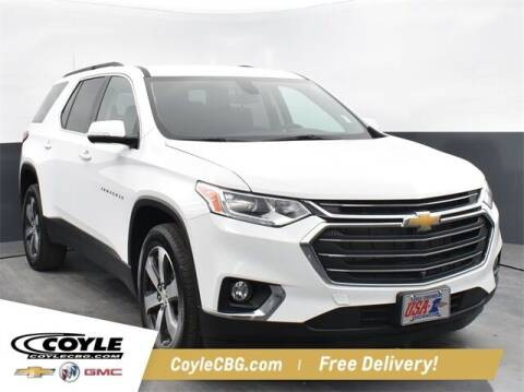 2020 Chevrolet Traverse for sale at COYLE GM - COYLE NISSAN - New Inventory in Clarksville IN
