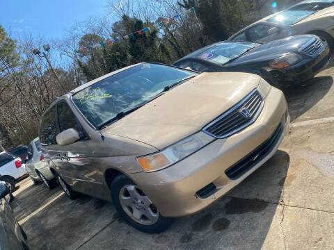2000 Honda Odyssey for sale at Copeland's Auto Sales in Union City GA