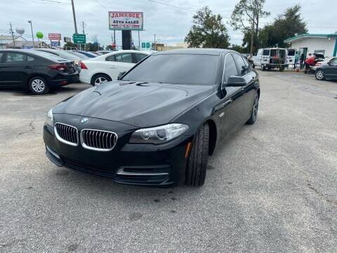 2014 BMW 5 Series for sale at Jamrock Auto Sales of Panama City in Panama City FL
