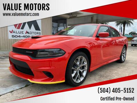 2021 Dodge Charger for sale at VALUE MOTORS in Kenner LA