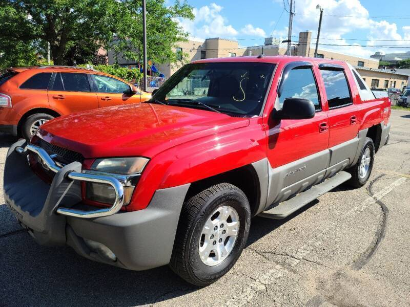 2002 Chevrolet Avalanche for sale at Steve's Auto Sales in Madison WI
