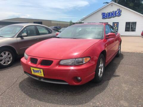 2000 Pontiac Grand Prix for sale at Blakes Auto Sales in Rice Lake WI