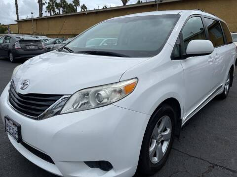 2012 Toyota Sienna for sale at CARZ in San Diego CA