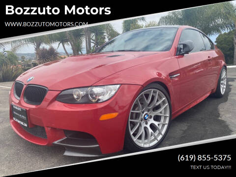 2012 BMW M3 for sale at Bozzuto Motors in San Diego CA