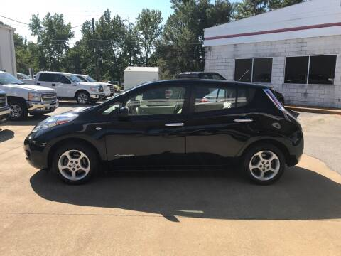 2012 Nissan LEAF for sale at Northwood Auto Sales in Northport AL