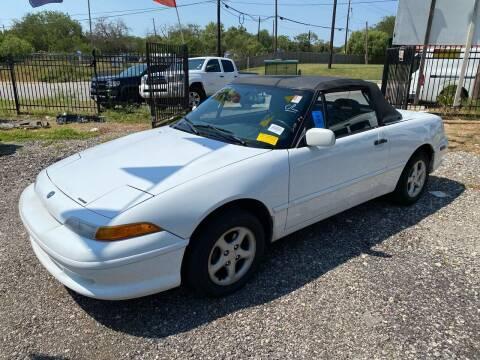 1994 Mercury Capri for sale at C.J. AUTO SALES llc. in San Antonio TX