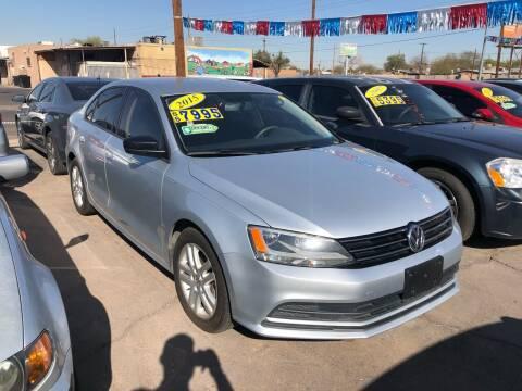 2015 Volkswagen Jetta for sale at Valley Auto Center in Phoenix AZ