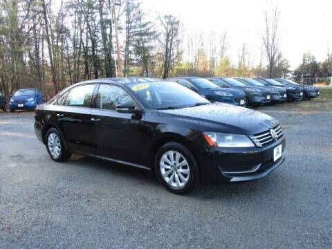 2013 Volkswagen Passat for sale at MC FARLAND FORD in Exeter NH