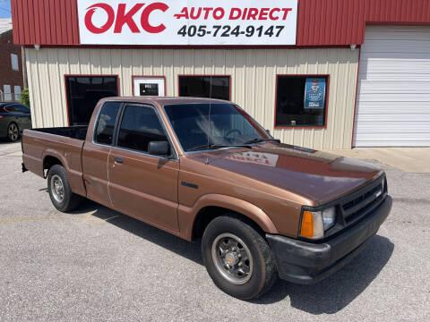 1986 Mazda B-Series Pickup for sale at OKC Auto Direct, LLC in Oklahoma City OK