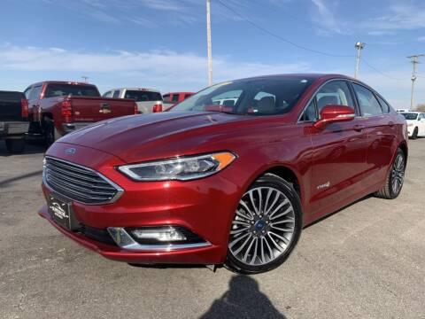 2017 Ford Fusion Hybrid for sale at Superior Auto Mall of Chenoa in Chenoa IL