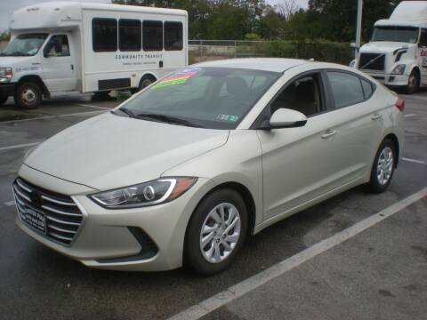 2017 Hyundai Elantra for sale at 611 CAR CONNECTION in Hatboro PA