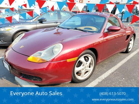 1999 Porsche Boxster for sale at Everyone Auto Sales in Santa Clara CA