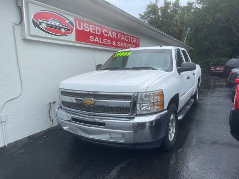 2013 Chevrolet Silverado 1500 for sale at Used Car Factory Sales & Service in Port Charlotte FL