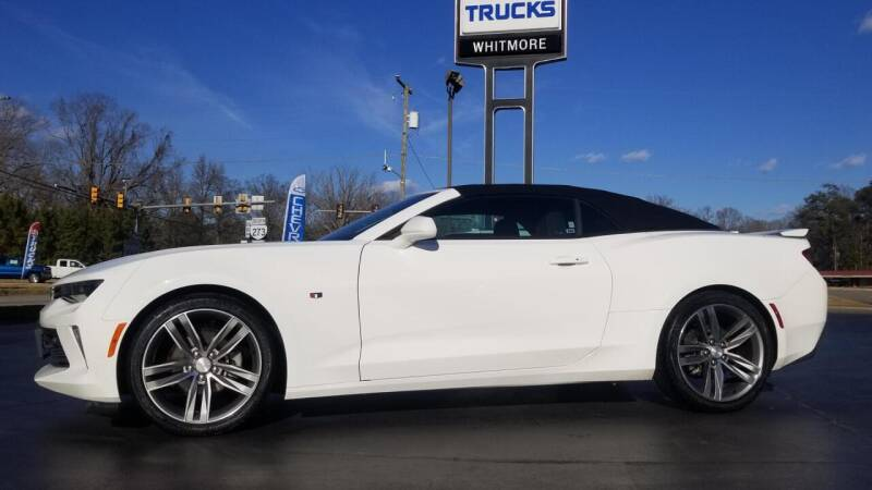2017 Chevrolet Camaro for sale at Whitmore Chevrolet in West Point VA