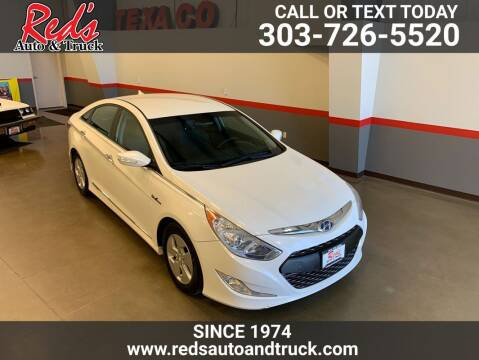 2011 Hyundai Sonata Hybrid for sale at Red's Auto and Truck in Longmont CO
