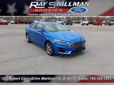 2019 Ford Fusion for sale at Ray Skillman Hoosier Ford in Martinsville IN