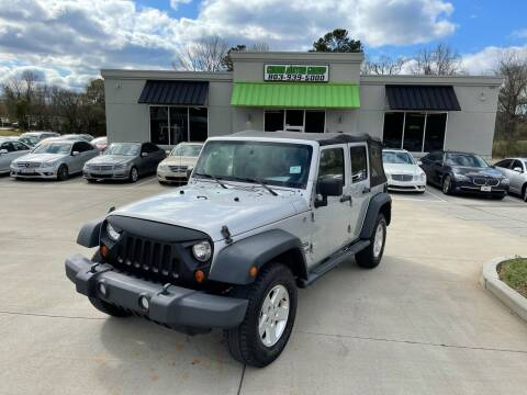 2010 Jeep Wrangler Unlimited for sale at Cross Motor Group in Rock Hill SC