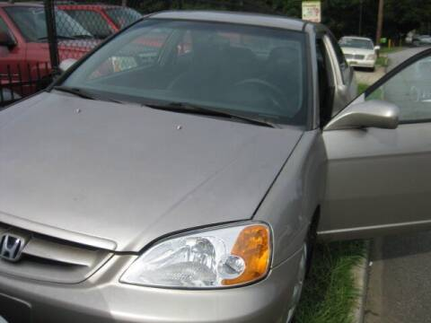 2002 Honda Civic for sale at LAKE CITY AUTO SALES in Forest Park GA