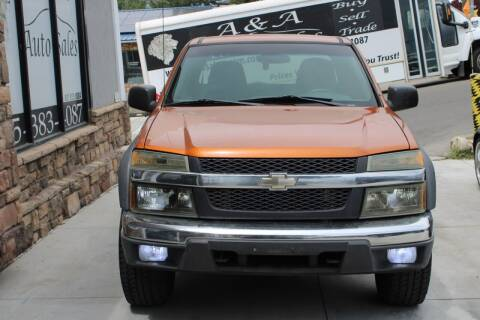 2004 Chevrolet Colorado for sale at A&A Auto Sales in Orem UT