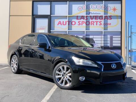 2013 Lexus GS 350 for sale at Las Vegas Auto Sports in Las Vegas NV