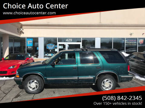 1998 Chevrolet Blazer for sale at Choice Auto Center in Shrewsbury MA