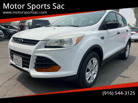 2014 Ford Escape for sale at Motor Sports Sac in Sacramento CA