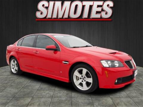 2008 Pontiac G8 for sale at SIMOTES MOTORS in Minooka IL