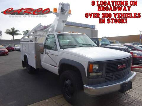 2000 GMC Sierra 3500 DRW for sale at CARCO SALES & FINANCE #3 in Chula Vista CA