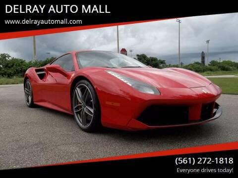 2017 Ferrari 488 GTB for sale at DELRAY AUTO MALL in Delray Beach FL
