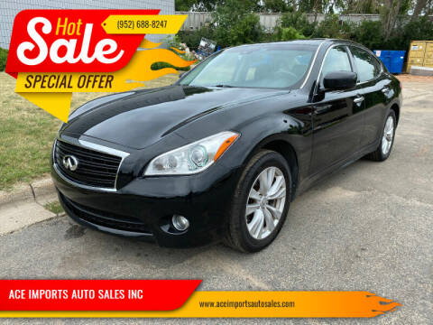 2011 Infiniti M37 for sale at ACE IMPORTS AUTO SALES INC in Hopkins MN