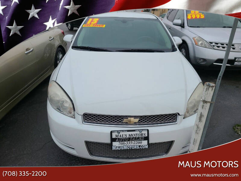 2013 Chevrolet Impala for sale at MAUS MOTORS in Hazel Crest IL