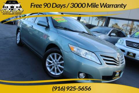 2011 Toyota Camry for sale at West Coast Auto Sales Center in Sacramento CA