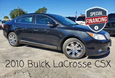 2010 Buick LaCrosse for sale at Rodgers Enterprises in North Charleston SC
