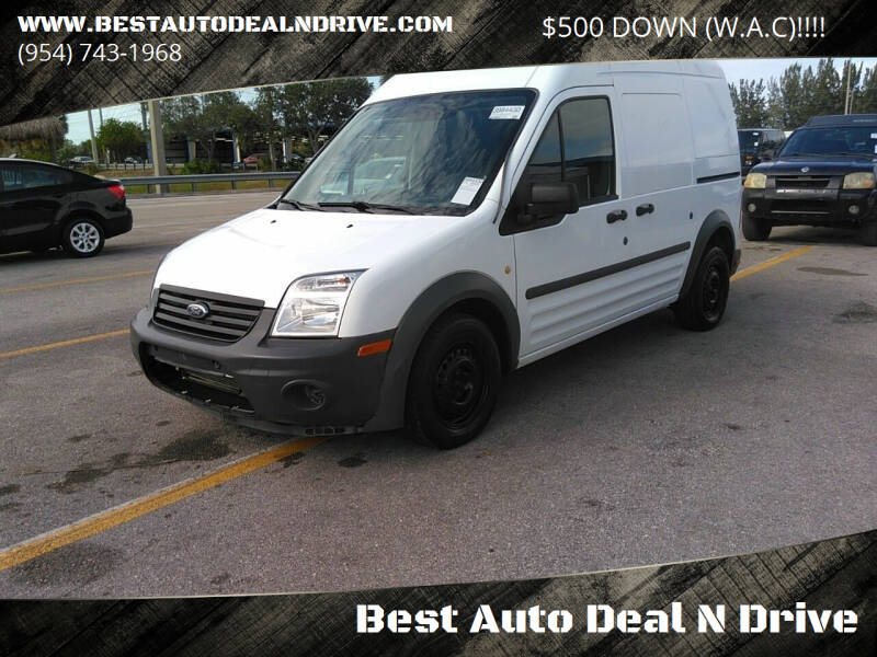 2010 Ford Transit Connect for sale at Best Auto Deal N Drive in Hollywood FL