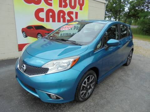 2015 Nissan Versa Note for sale at Right Price Auto Sales in Murfreesboro TN