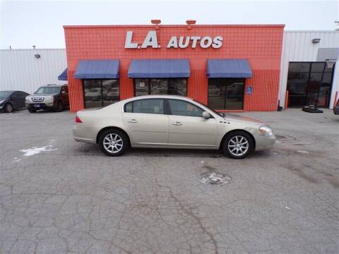 2008 Buick Lucerne for sale at L A AUTOS in Omaha NE
