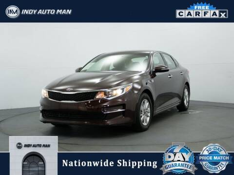 2018 Kia Optima for sale at INDY AUTO MAN in Indianapolis IN