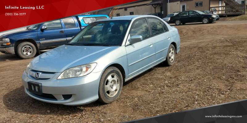 2005 Honda Civic for sale at Infinite Leasing LLC in Lastrup MN