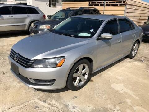 2013 Volkswagen Passat for sale at Harley's Auto Sales in North Augusta SC
