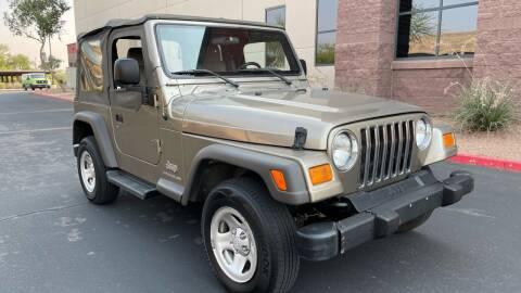 2005 Jeep Wrangler for sale at Autodealz in Tempe AZ