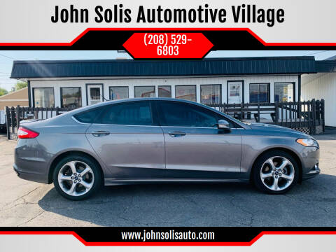 2013 Ford Fusion for sale at John Solis Automotive Village in Idaho Falls ID