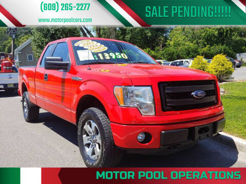 2013 Ford F-150 for sale at Motor Pool Operations in Hainesport NJ