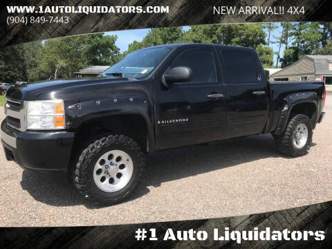 2007 Chevrolet Silverado 1500 for sale at #1 Auto Liquidators in Yulee FL