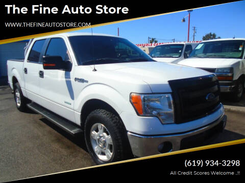 2012 Ford F-150 for sale at The Fine Auto Store in Imperial Beach CA