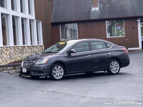 2013 Nissan Sentra for sale at Cupples Car Company in Belmont NH
