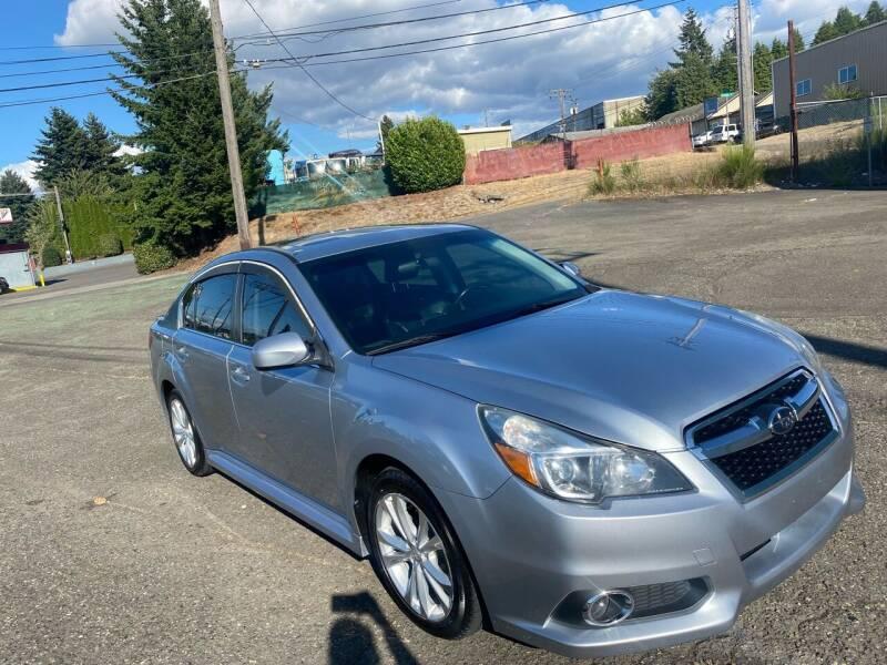 2013 Subaru Legacy for sale at South Tacoma Motors Inc in Tacoma WA